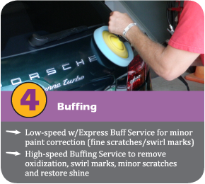 high speed buffing service highlight
