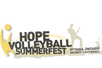 hope beach volley ball